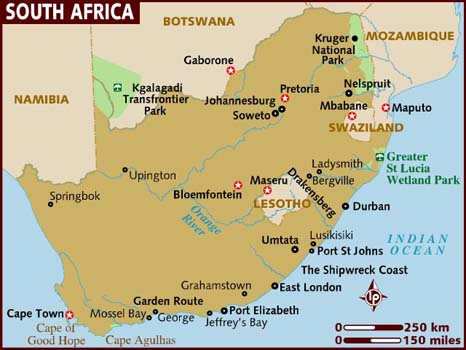 Thematic Map   AIDS IN AFRICA